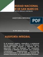 1.- Concepto de Auditoría Integral