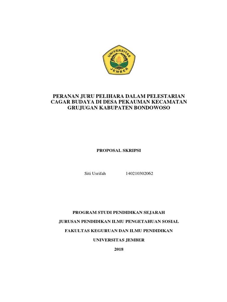 Skripsi Sejarah Desa Pdf Ide Judul Skripsi Universitas
