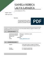Marianela Curriculum Vitae