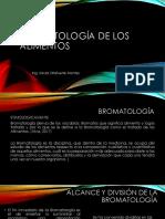 Bromatología de Los Alimentos