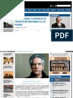 Enfilme Com Notas Del Dia David Cronenberg a La Defensa de l