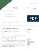 Blog de Ritmo