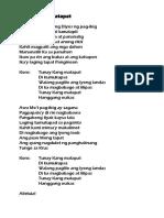 Tunay Kang Matapat