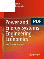 Power and Energy Systems Engineering Economics Best Practice Manual