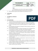 AL-P-002 Control de Bolsas y Sacos Vacíos de Fertilizantes