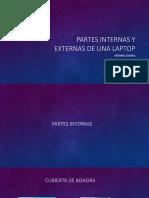 Partes Internas y Externas de Una Laptop