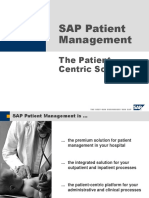 Sap Patient Mngmt