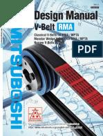 V-Belt Desing Manual RMA