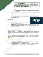QA-I-001 Determinación de Campos Para Muestreo Por Análisis 2015