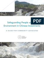 Inclusive Development International - Safeguarding People and the Environment in Chinese Investments - 2017
