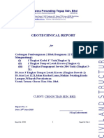 Geotechnical Report Choon Tian