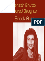 Benazir Bhutto Favored Daughter by Brook Allen