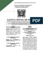 Manual de Organización y Funciones 2015 Alcadía Mérida