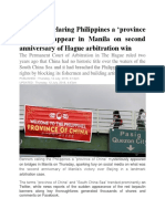 Banners Declaring Philippines A