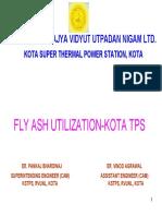 FLY ASH UTILIZATION-KOTA TPS.pdf
