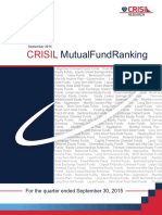 CRISIL Mutual Fund Ranking Booklet Sept2015