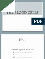Quiz Blood Cells