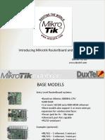 Introducing Mikrotik