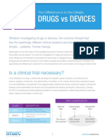 Drugs vs Devices NEW