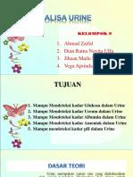 Analisa Urine Kel 9 Jihaan
