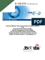 3gpp Ts 29 272 (Lte Mme Diameter)