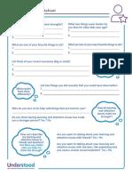 SelfAwareness Worksheet ENG