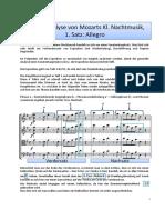 Analyse Nachtmusik1
