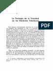 Bachiarius La Teología de la Trinidad