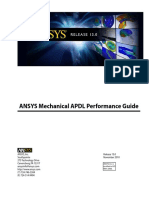 Ansys Mechanical Apdl Performace Guide r 13
