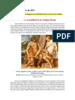 Amor y Sexualidad en La Antigua Roma