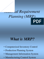 100809796 Material Requirement Planning Presentation