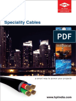 Final Speciality Cables Catalogue