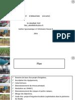 Projet Irrigation Localisée GR3 9 Janvier 2015-1