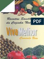 VIVA MELHOR- Receitas Cozinha Naturista