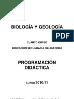 Programación B y G 4º ESO 2010-11