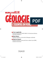 Mémo Visuel de Geologie PDF