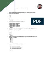 SIMULACRO Biologia y Quimica Reicente