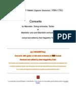 Hasse - Mandolin Concerto