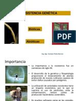 Resistencia Genetica - Unab
