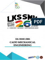 Mechanical Engineering CAD - LKS 2018