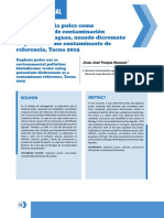 Uso de daphnia pulex como bioindicador de contaminación ambiental en aguas, usando dicromato de potasio como contaminante de referencia, Tacna 2015