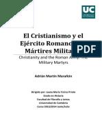 El cristianismo y el ejercito Romano- los martires militares-MartínMarañónAdrián.pdf