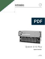 System 8 10 Plus ManualF