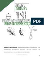 Unidad V   Materiales Electricos Basicos.pdf