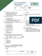 003 Formato Evaluacion de Capacitacion