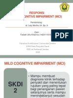 RESPONSI Dr. LELY - FADIAH - Mild Cognitive Impairment