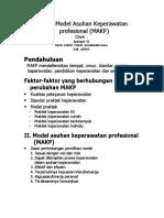 Sistem Model Asuhan Keperawatan Profesional