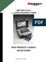 Megger-Sales Guide MIT1525