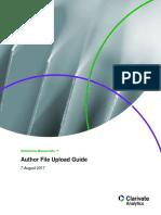 Author File Upload