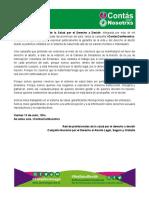 Declaracion Red de Profesionales. #ContasConNosotrxs